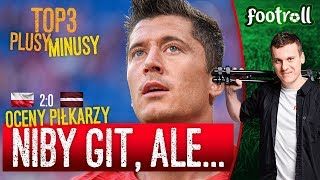Jerzy, to j*bnie... Polska 2:0 Łotwa | Oceny Hejtera