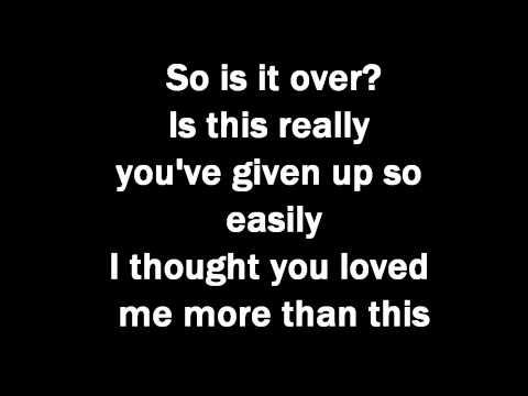 Adele  Take it all lyrics