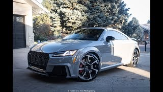 My Friend Bought a Nardo Grey Audi TTRS!