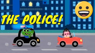 Pinkfong The Police Car - Gameplay iOS & Android - Kids Mobile Games #1