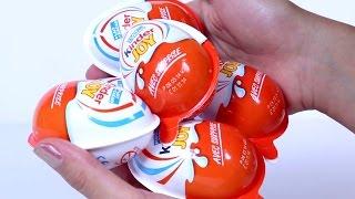 5 Kinder Sürpriz Yumurta Açıyoruz