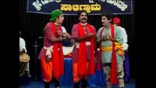 Yakshagana-Hasyachakravarti Ramesh bandari  hagu Balagadavar hasya...