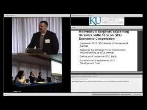 KU Russia-China, Panel 1 Discussion: Architects of Regional Orders and their Global Implic