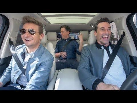 The Apple TV App — Carpool Karaoke — Stars of 'Tag' — Jon Hamm, Ed Helms & Jeremy Renner