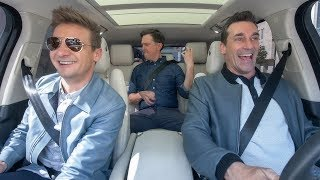 The Apple TV App - Carpool Karaoke - Stars of 'Tag' - Jon Hamm, Ed Helms & Jeremy Renner