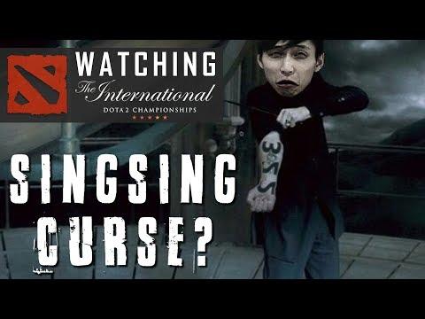 WATCHING TI8 | Sing Curse? (SingSing Dota 2 Highlights #1209)