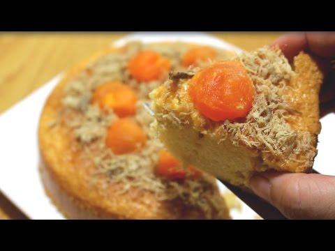 Món ngon dễ làm: Bánh bông lan trứng muối thơm ngon đúng vị
