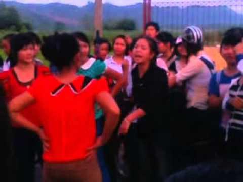 Đàn bà nlb đánh nhau (văn yên)