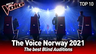 So much INCREDIBLE talent on The Voice Norway 2021 🤩 | Top 10