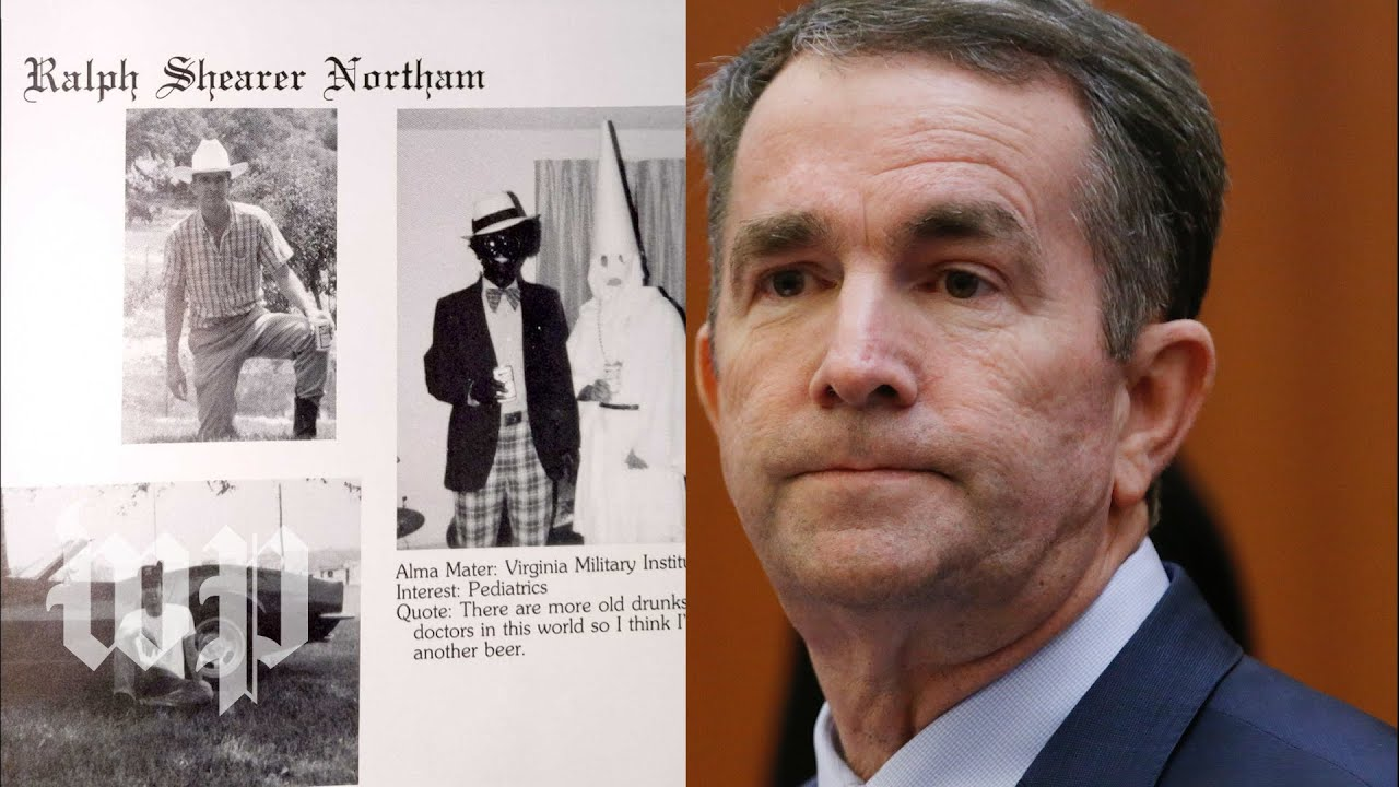 Gov. Ralph Northam 'deeply sorry' after photo emerges from his 1984 yearbook ...
