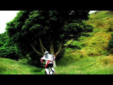 Colin Ross Irish Champion, Cave Hill. Downhill MTB...