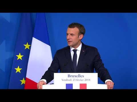 Emmanuel Macron makes a joke out of Hungary