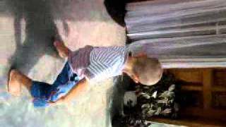 Little Boy dancing African Tonic