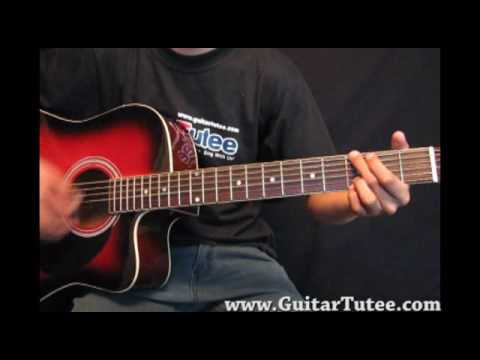Rascal Flatts - Here Comes Goodbye, by www.GuitarTutee.com