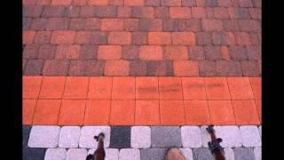 Цветное мощение . Дизайнерские схемы укладки тротуарной плитки .(Яркие решения укладки тротуарной плитки . Если дизайнер возьмёт ссылку на этот ролик на встречу с заказчико..., 2016-02-07T14:31:42.000Z)