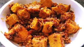 Chana Dal Ki Sabji | Chana Dal Bhap Badi Ki Sabji | Steamed Split Chickpeas Sabji