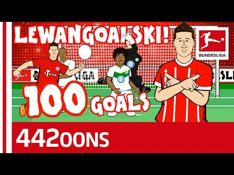 Lewandowski's 100th Goal for Bayern Song - Powered by 442oons