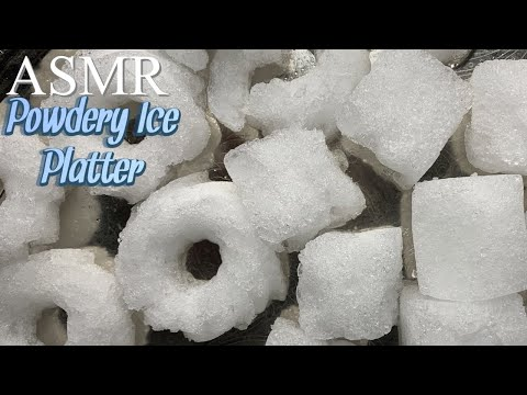 ASMR Powdery Ice Platter