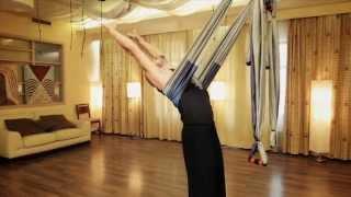 Йога в воздухе. Антигравитационная Йога. (2011)(Краткий курс для начинающих заниматься Йогой в воздухе от производителя Йога-гамаков компании