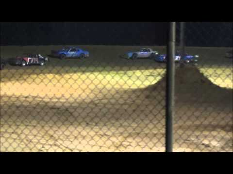 Northwest Florida Speedway Pure Stock heat and Feature  (jess)