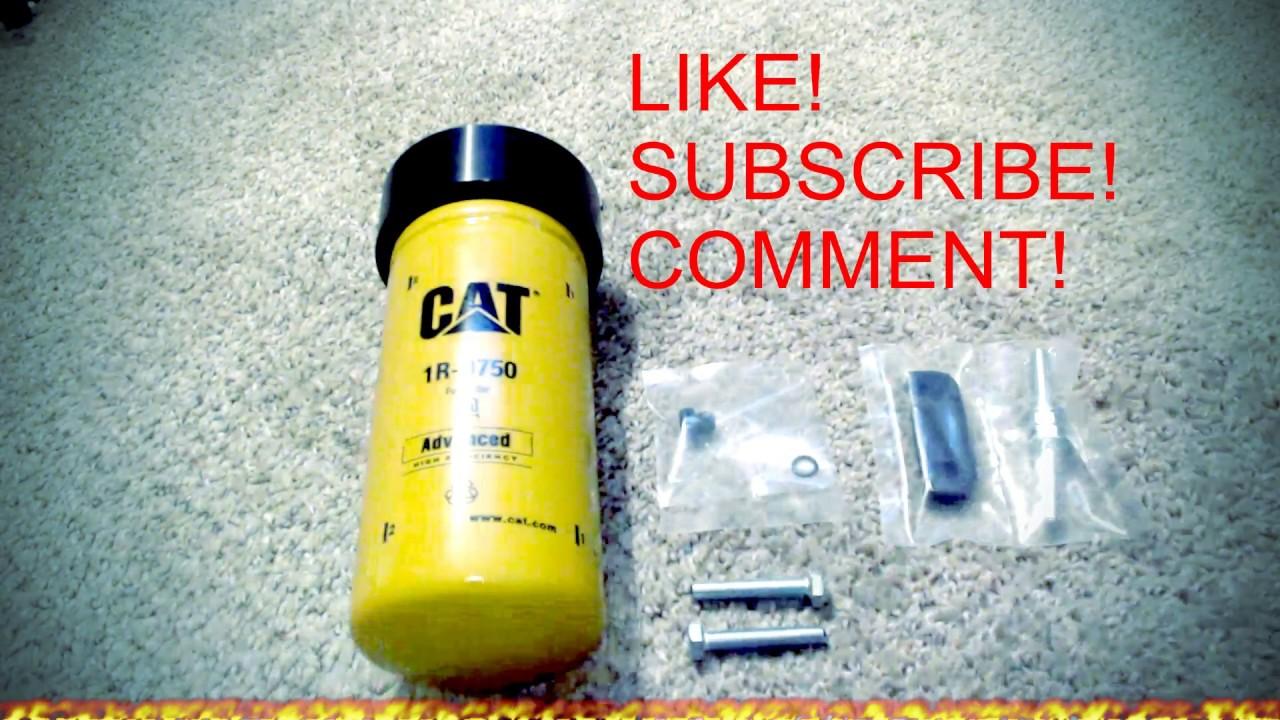 Duramax Cat Fuel Adapter 2001 2016 Youtube Diesel Filters
