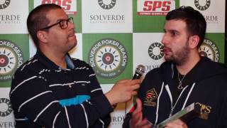 Diogo Gomes Vence Main Event Etapa #2 Solverde Poker Season 2017