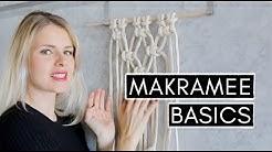 Makramee für Anfänger - Basis Knoten und Tipps zum Seilkauf