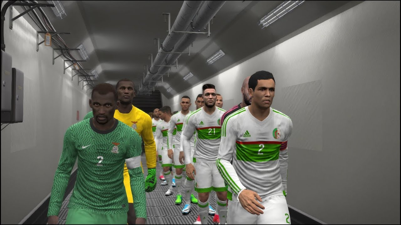 algeria vs zambia full match fifa world cup 2018 qualifiers gameplay youtube. Black Bedroom Furniture Sets. Home Design Ideas