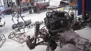 Miata MX5 MKIII 3 (NC) body removal by Stuart Mills