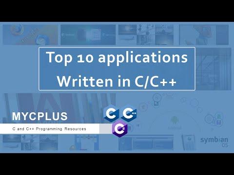 Top 10 Best Applications Written In C/C++