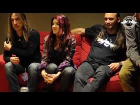 FYRE! in Paris, Le Trianon opening up for ANASTACIA - Interview  TV Rock Live