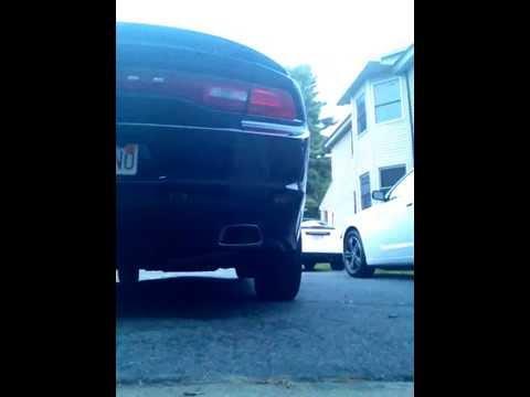 Dodge charger SXT exhaust rev