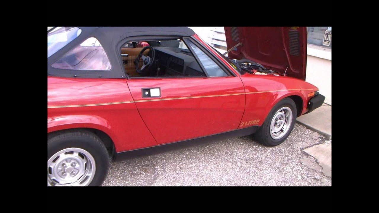 1980 Triumph Tr7 Youtube