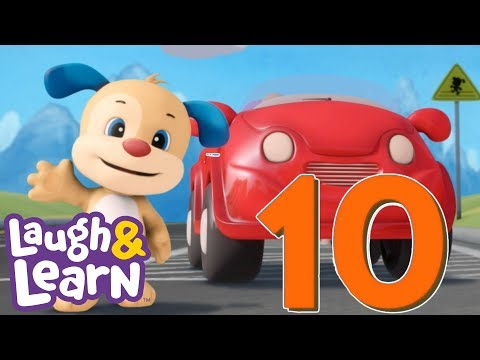 laugh-&-learn™---counting-cars-|-kids-songs-|-cartoons-for-kids-|-nursery-rhymes-|-kids-learning