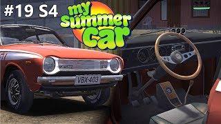 Moje Letnie jeżdżenie Satsumą GT  My Summer Car na kierownicy (Odc 19 S4)