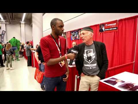 Michael Hogan Colonel Saul Tigh on Battlestar Galactica Talks Scifi dom
