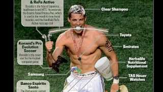 How Ronaldo became the £26.5million walking billboard