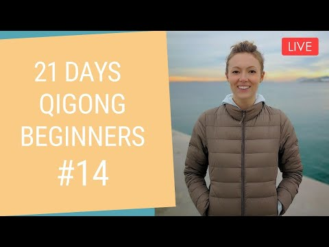🔴 LIVE Day 14 - Gratitude   21 Days of Qigong With Kseny