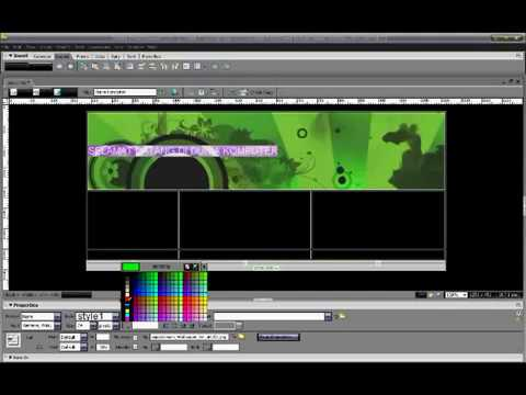Tutorial Pembuatan Website Dengan Dreamweaver CS3 Part 1 - YouTube