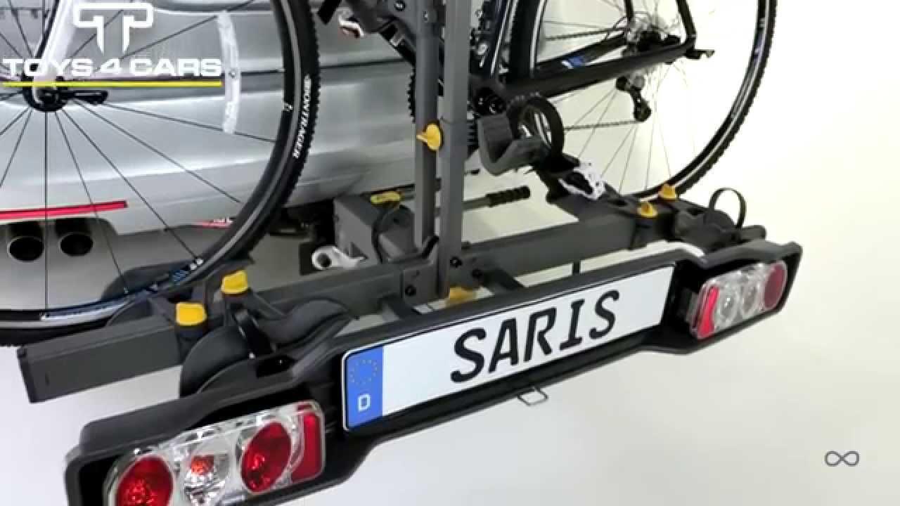Saris Freedom Bike Rack Tow Ball Mounted Youtube