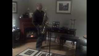 Blessed be the Lord God almighty:Tenor Sax