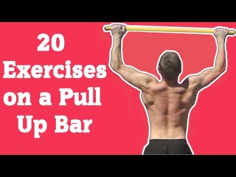 20 Exercises on a Pull Up Bar