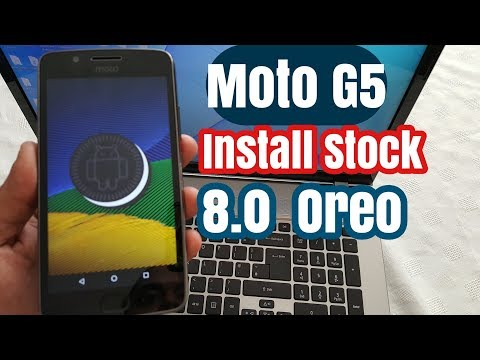 Moto G5 Install Stock 8.1.0 Oreo Update The Wait Is Over