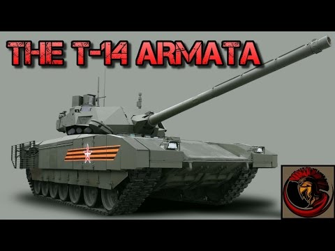 T-14 Armata Russian Main Battle Tank - Tank Overview