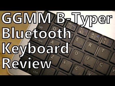 Review: GGMM B-Typer Portable Bluetooth Keyboard - Brushed Aluminum Style