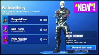 *NEW* How To REFUND SKINS For FREE VBUCKS! (Fortnite Battle Royale REFUND SYSTEM)