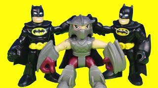 Just4fun290 Presents Shredder Turns Into Imaginext Batman Tries to ...