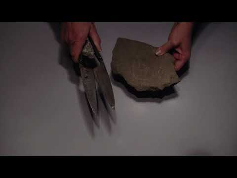 Incisioni circolari su pietra