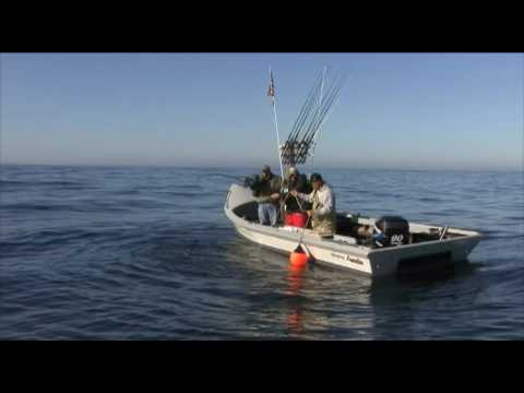 Pacific City, Oregon Halibut Fishing - Fisherman Pukes
