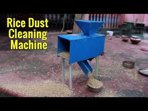 How to Make Rice Dust Cleaning Machine | Rice Processing Machine